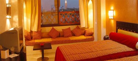 Hotel hivernage et spa marrakech forfait s jour au for Salon paris marrakech